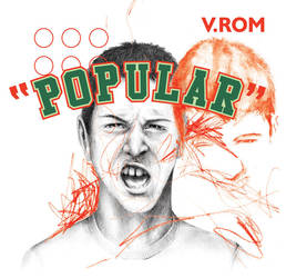 V.ROM t-shirt POPULAR by gurski