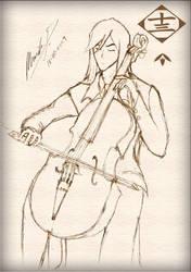 Ukitake - Cello by talespirit