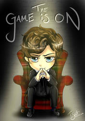 Chibi Sherlock: The Game is ON! by talespirit
