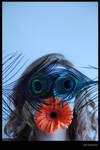 Peacock eyes by blairsavage