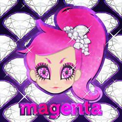 Glitter Magenta by 3ahia
