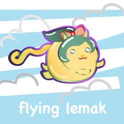 Flying Lemak by 3ahia