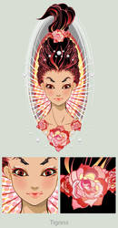 portfolio- Lady by 3ahia