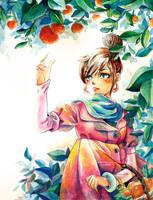 Orange by ginty212