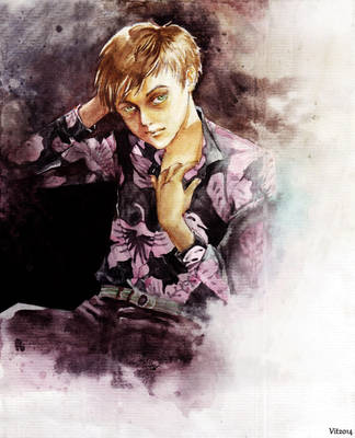 Dane Dehaan by ginty212