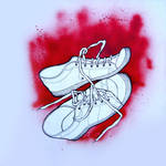 Old Shoes by Jonthearchitect