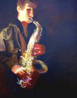 Saxophone 3 by Jonthearchitect
