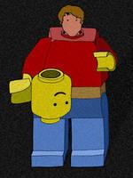Legoman by Jonthearchitect