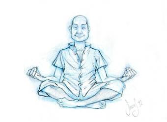 Meditation Pose by ofirbr