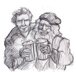 Drinking Buddies by Professor-R