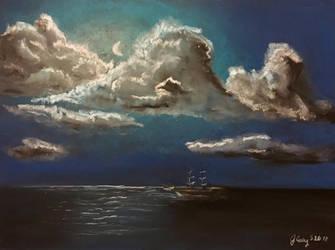 Peaceful Sea by J-Cody