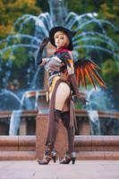 Witch Mercy by ItsKaylaErin