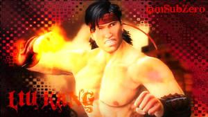 Liu Kang is Mad by IamSubZero