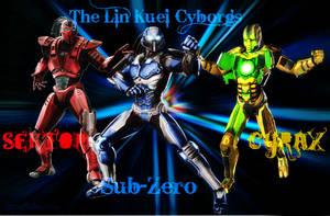 The Lin Kuei Cyborgs by IamSubZero