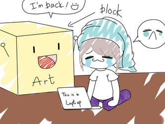 Art block by AshiiAshAsh