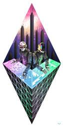 Daft Punk by Ap6y3