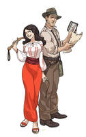 Jones and Marion by Ap6y3