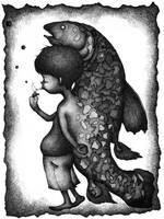 fish boy-01 by shichigoro756