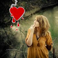 i wonder why my heart bleeds.. by onixa