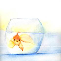 anna- watercolor by onixa