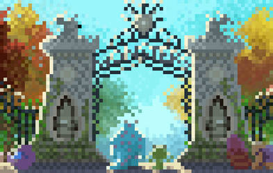 Monster University - Pixel Version by Utitake