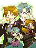 Anime Baka To Test by KortsTina