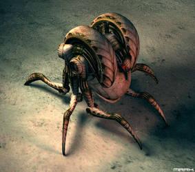 bug soldier by kernelb0i