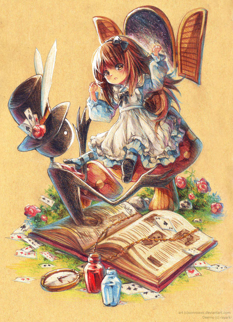 Alice in DeemoLand by sonnyaws
