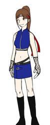 Morgane - Naruto Style by xLaraxCroftx