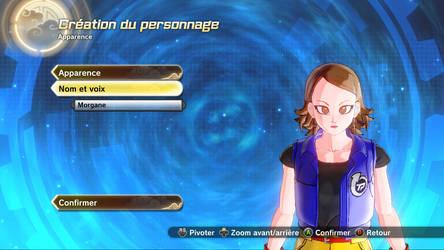 Morgane - Dragon Ball Version (Face) by xLaraxCroftx
