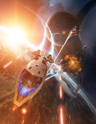 Orbital Fight by TobiasRoetsch