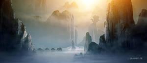 Misty Mountains by TobiasRoetsch