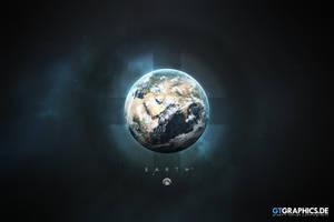 A Portrait of the Solar System: Earth by TobiasRoetsch