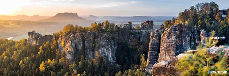 Bastei Panorama by TobiasRoetsch
