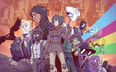 Horde of Heroes by Gooseworx