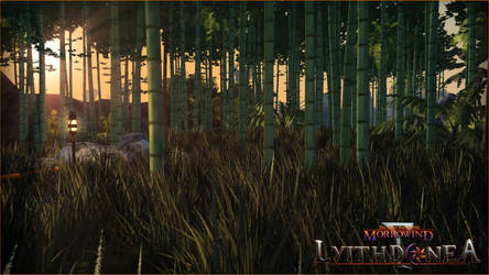Lyithdonea - Bamboo Forest by ericthered1090