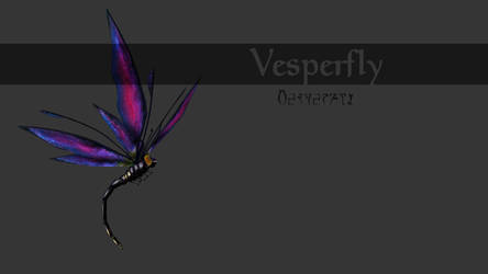 Lyithdonea Creatures: Vesperfly by ericthered1090