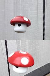 Super Mario Bros Mushroom Birdhouse by kludge77