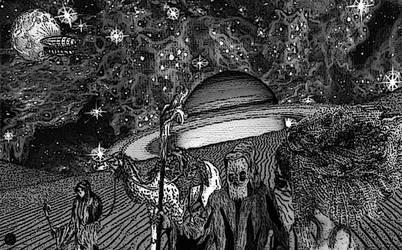 Desert Moons Of Zartha by unsociallobster
