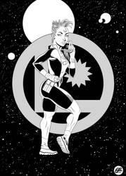 XS of the Legion of Superheroes by Rasmane