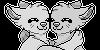 F2U doggo hug link icon by Niyukay