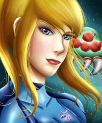 Zero Suit Samus by Mayleth