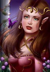 The Princess Elf by Mayleth