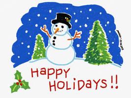 2013 Christmas card #3 by kybrdgal