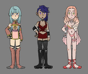 Mixed Female Adopts [3/3] [OPEN] by BlessedTank