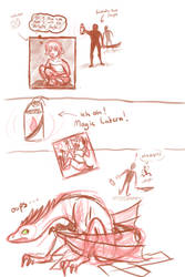 Allegra has some problems... by dandypandy12