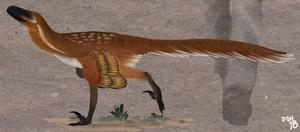 Bambiraptor feinbergi by DanneArt