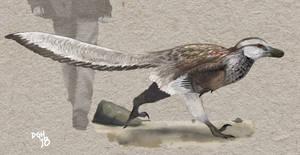 Velociraptor mongoliensis by DanneArt