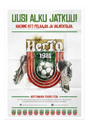 HerTo - Football club poster by ouwEnz