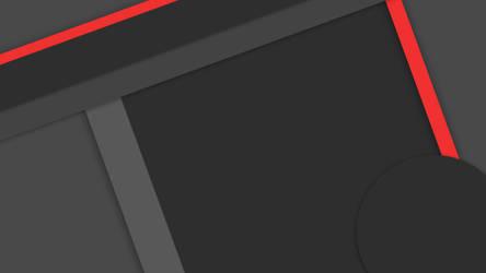 Dark Material Design Wallpaper #1 in 4k by tgs266